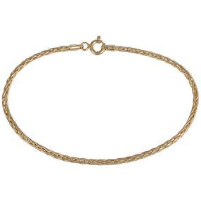 Spiga Armband 585 Gelbgold, ca. 17,8 cm