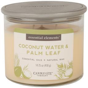 Essential Elements Duftkerze Coconut & Palm Leaf