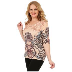 BRILLIANTSHIRTS Damen-Shirt 'Fylida' multicolor