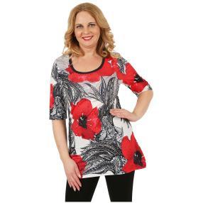 BRILLIANTSHIRTS Damen-Shirt 'Fina' multicolor
