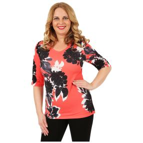 BRILLIANTSHIRTS Damen-Shirt 'Fiala' multicolor