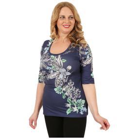 BRILLIANTSHIRTS Damen-Shirt 'Felia' multicolor