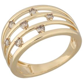 Ring 585 Gelbgold Brillanten ca. 0,25ct.