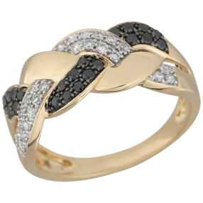 Ring 585 Gelbgold Diamanten ca. 0,50ct.