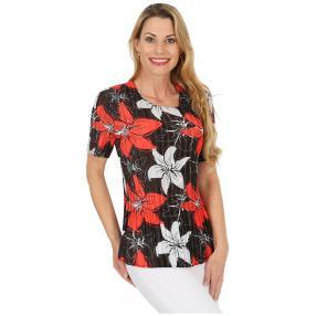 Jeannie Plissee-Shirt 'Adana' multicolor