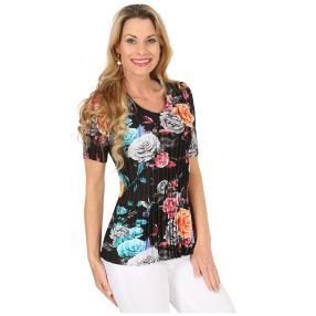 Jeannie Plissee-Shirt 'Alexa' multicolor