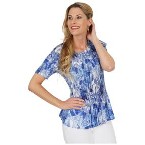 Jeannie Plissee-Shirt 'Adriana' multicolor