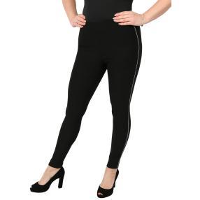 Damen-Hose verziert, schwarz