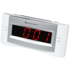 UKW-Uhrenradio mit USB-Anschluss