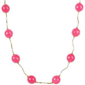 Collier pinker Achat