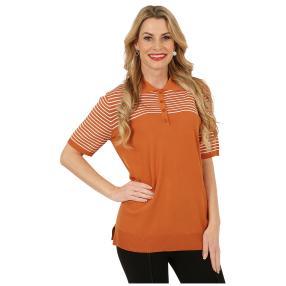 IMAGINI Feinstrick-Pullover 'Licata' mandarine