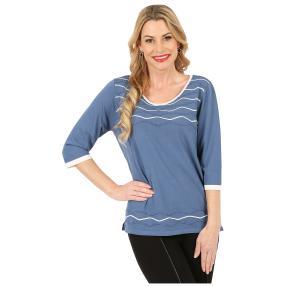 IMAGINI Feinstrick-Pullover 'Alassio' blau