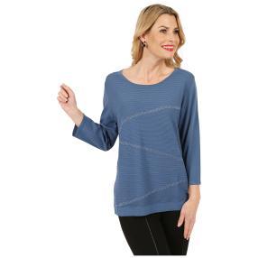 IMAGINI Feinstrick-Pullover 'Rapallo' blau