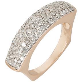 Ring 585 Roségold Diamant