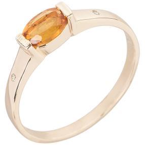 Ring 375 Gelbgold Madeira Citirn