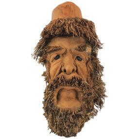 Darimana Maske Alter Mann aus Bambus 45cm