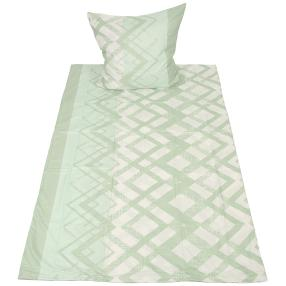 CoolSummer Bettwäsche 2-teilig, hellgrün