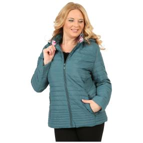 Damen-Jacke 'Joie' grün/multicolor
