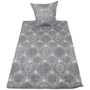 AllSeasons Bettwäsche 2-teilig, grau Ornamente