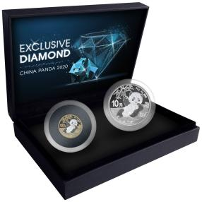 Exclusive Diamond China Panda Set 2020