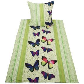 AllSeasons Bettwäsche 2-teilig, Schmetterling