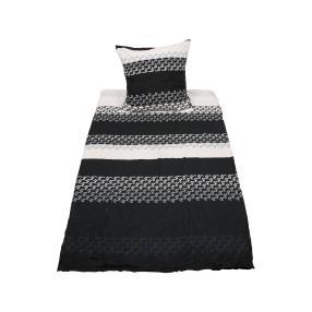 AllSeasons Bettwäsche 2tlg. schwarz-weiß