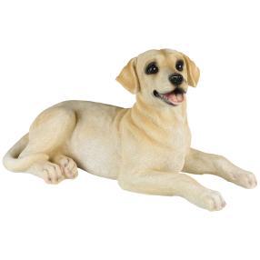 Zauberwelt Dekofigur Labrador, creme