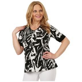 RÖSSLER SELECTION Damen-Shirt 'Dana' schwarz/weiß