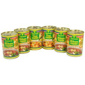 Indonesia/Thai Suppenpaket, 6-teilig