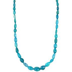 Collier Äthiopischer Opal Paraiba Blue