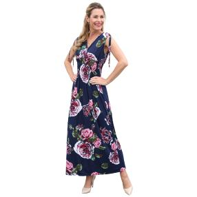 Damen-Kleid 'Ines' marine/multicolor