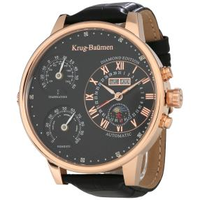 "Krug Baümen ""Weather"" Herrenuhr Automatik rosé"
