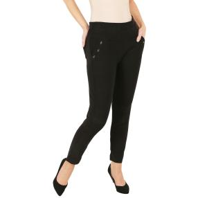 Damen-Hose 'Easy Fit' schwarz