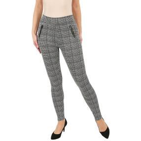 Damen-Hose 'Modern Chic' mit Bambusfaser grau