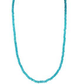 Collier Blue Chalzedon, ca. 45 + 5 cm