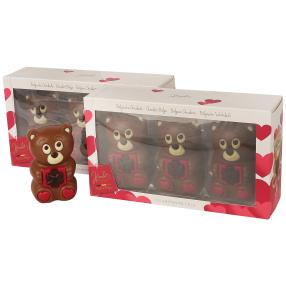 Teddy Hohlfiguren  3er Set