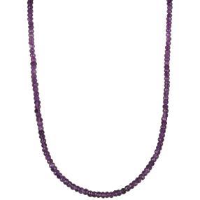 Collier Amethyst, ca. 45 + 5 cm, ca. 45 ct.