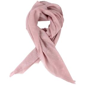 Scarves by CG Schal 100% Baumwollschal Pailletten