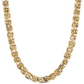 """Königskette """"Arezzo"""" 585 Gelbgold ca. 50 cm"""