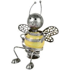 Solarleuchte Biene, sitzend