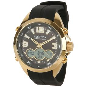 Kenneth Cole Herrenuhr Quarz Lederband