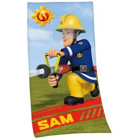 Badelaken Feuerwehrmann Sam