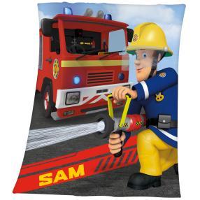 Fleece-Decke Feuerwehrmann Sam