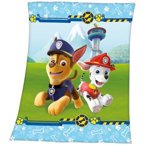Fleece-Decke Paw Patrol