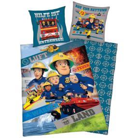 'Feuerwehrmann Sam' Wende-Bettwäsche, 2-teilig