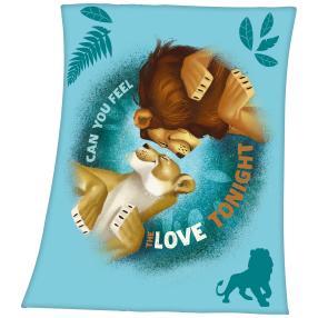 Fleece-Decke König der Löwen