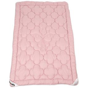 Stoffhanse Steppdecke rosa, 135 x 200 cm