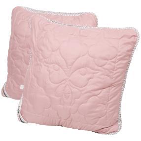 Stoffhanse Kissen 80 x 80 cm, 2er Set rosa