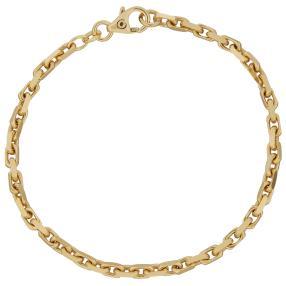 Ankerarmband 585 Gelbgold, ca. 18,5 cm