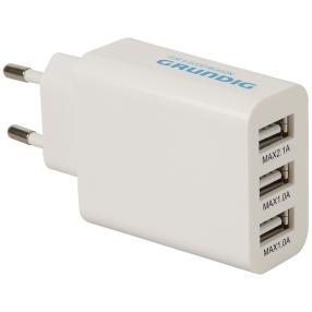 Grundig 3-fach-USB Ladegerät